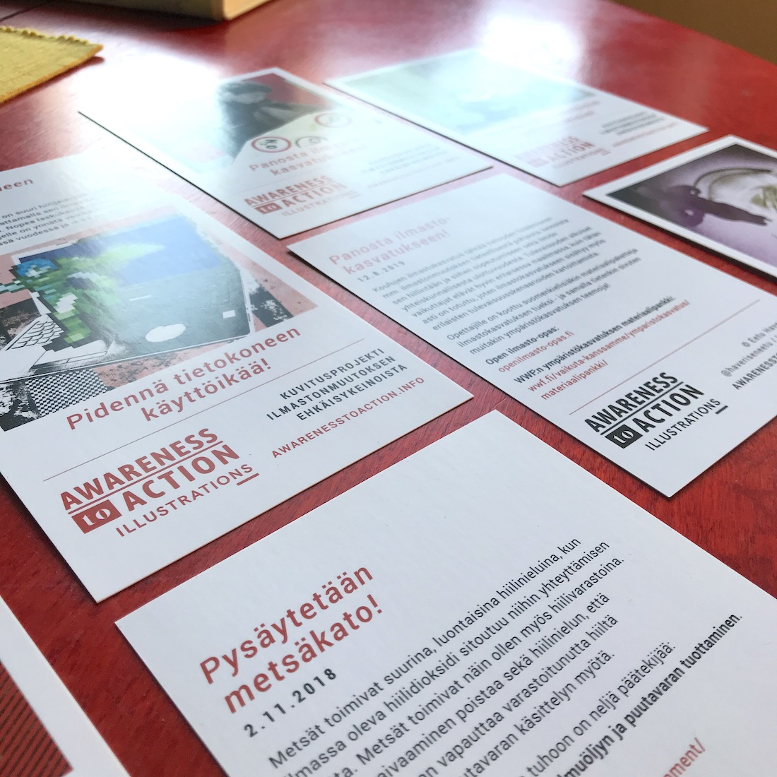 Awareness to Action Climate Cards